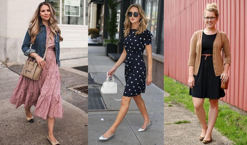 vestidos com sapatilhas