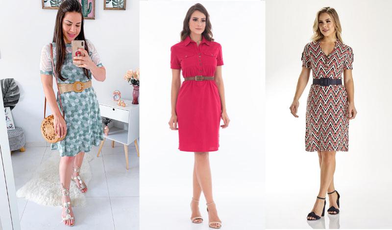 post blog dicas de como usar vestido com cinto